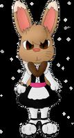 Sakara the Quakeon's Maid Outfit (For SuperLunala)