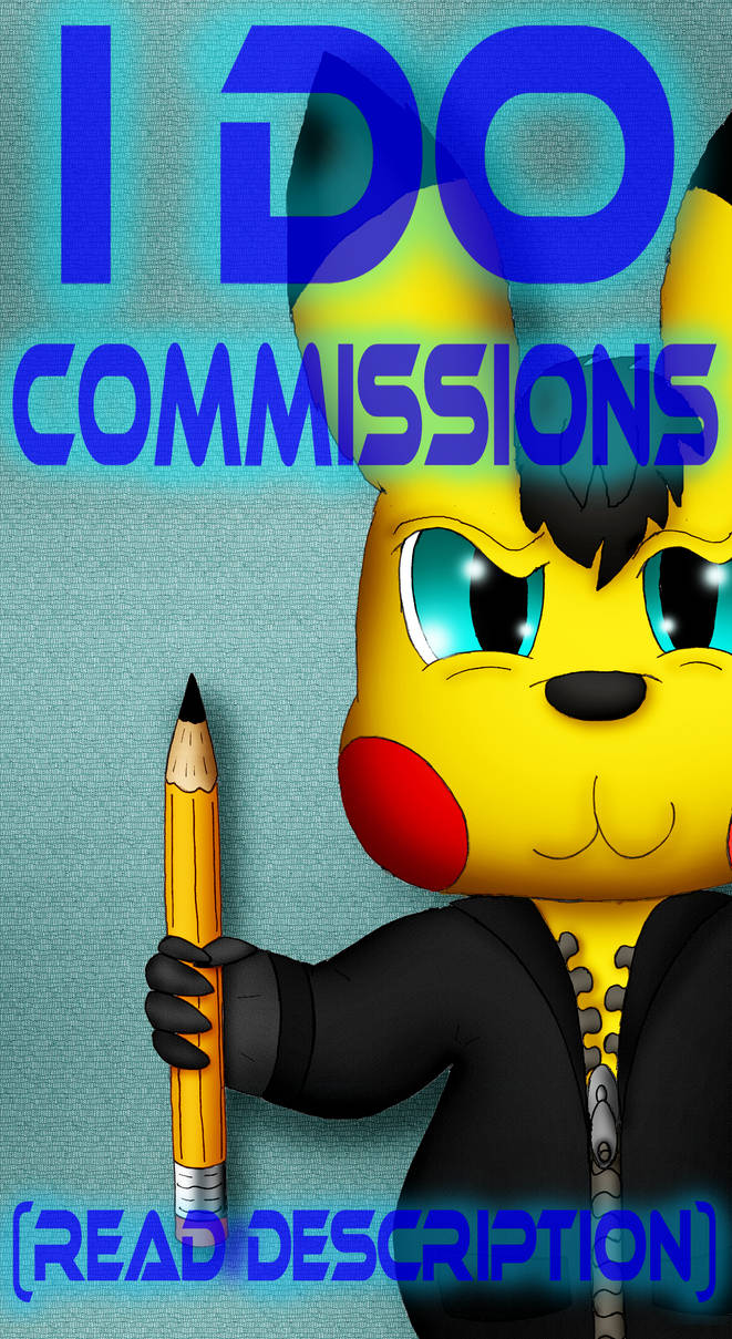 I Do Commissions (PayPal and Points) *OPEN*