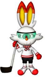 Casey Scouter the Scorbunny