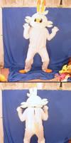 Scorbunny Fursuit (WIP)