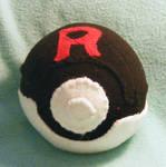 Team Rocket Pokeball Plush (For danielseguin1)