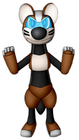 Jacob the Robo-Otter (For Masterge77)