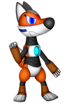 Riley the Robo-Fox (For Masterge77)