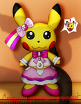 Pikachu Popstar 'Plush' for the Collection