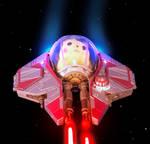 Ace Starfighter Pilot Pikachu (Photo Edit)