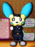 Milton the Minun (Alice Hearts' 'Assistant')