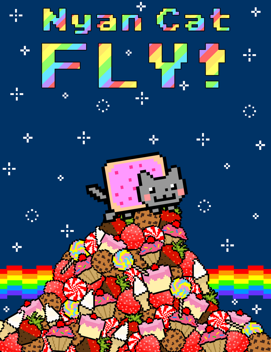 Nyan Cat FLY -Mount Yummy by krangGAMES