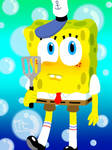 Lineless SpongeBob