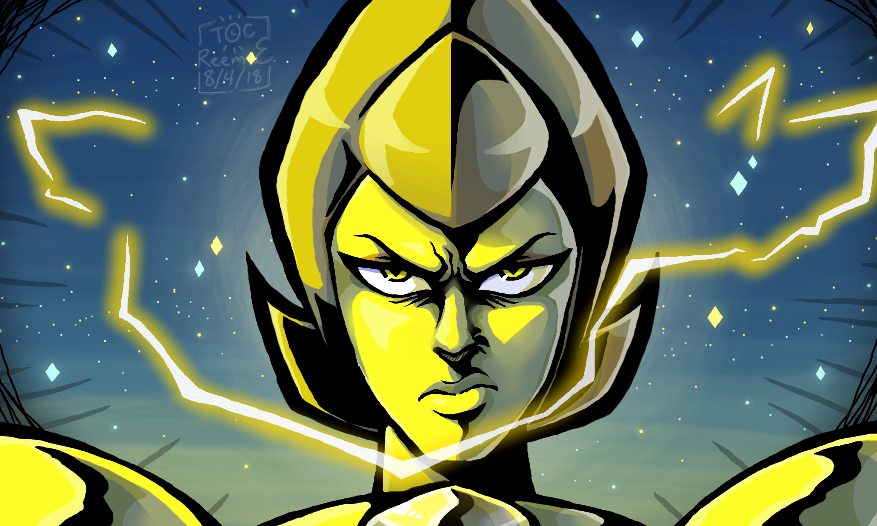sta.sh/0gmkhnscwbs Yellow Diamond is so coooooool, she might as well be my favorite character in the whole entire show. I think I might've made her look a little too intense though. ((Btw, thi...