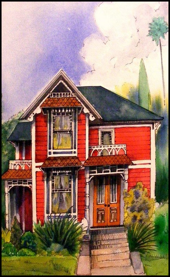 Red House by deviantmike423