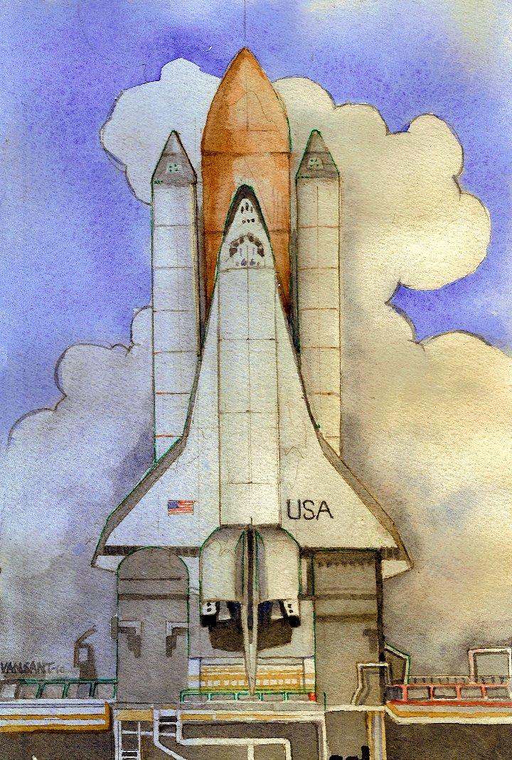 Shuttle Prototype by deviantmike423