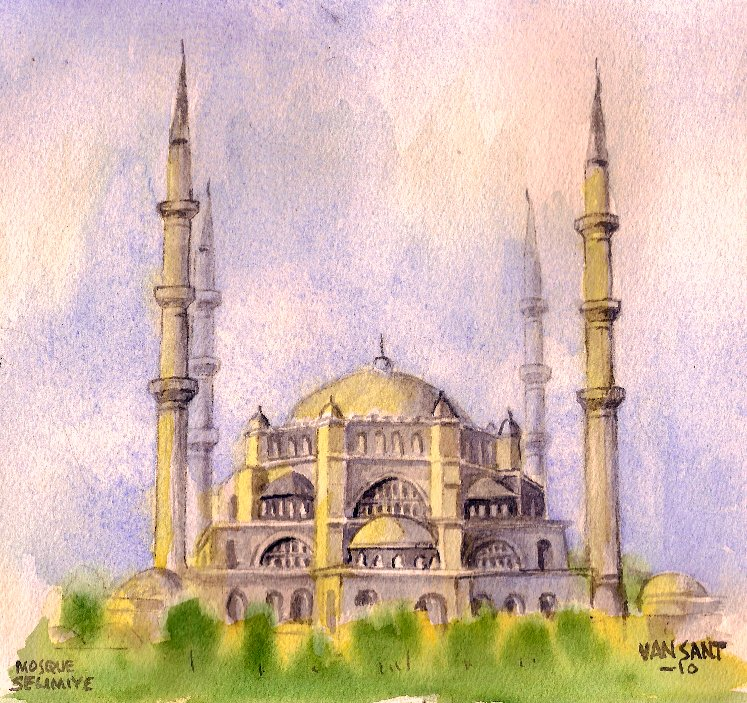 Mosque Selimiye by deviantmike423