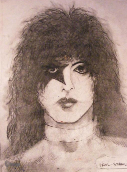 Paul Stanley by deviantmike423