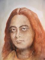 Yogananda Portrait by deviantmike423
