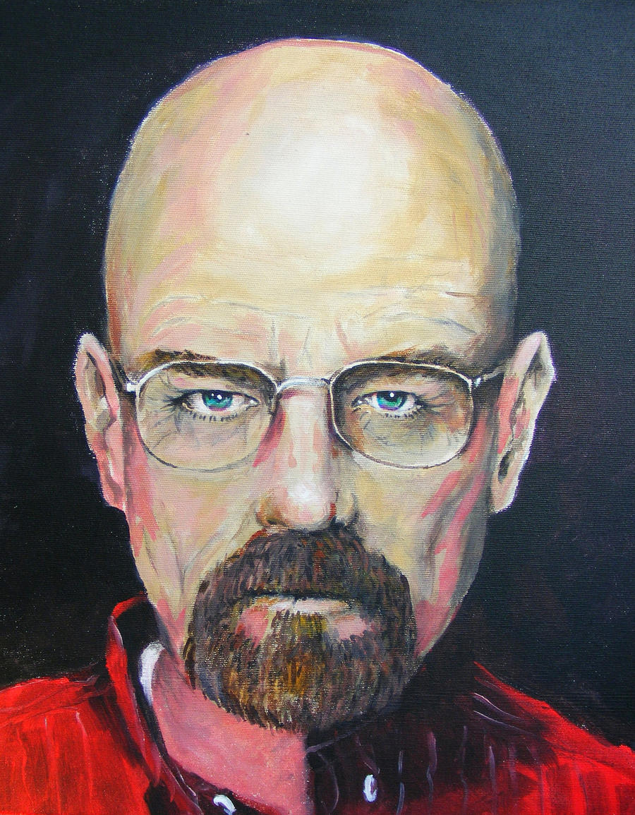 Walter White by deviantmike423