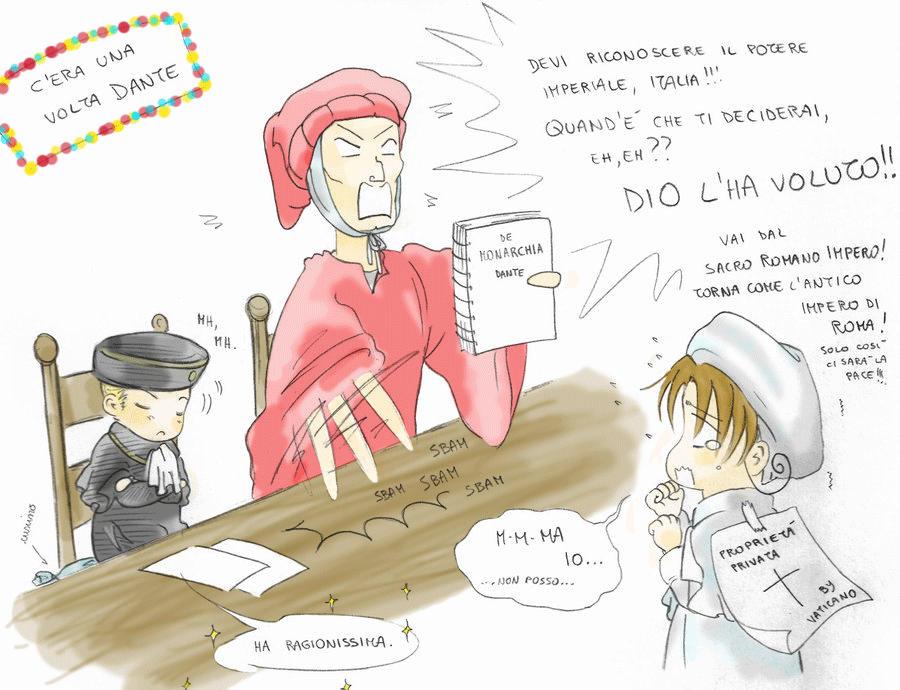 C'era una volta Dante by PrincesseDeLamballe