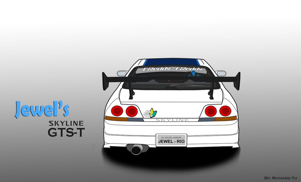 Rio - Jewel's Nissan Skyline GTS-T (R33) by TylerBluGunderson01