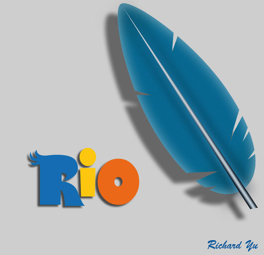 Rio - Jewel's feather testing concept by TylerBluGunderson01