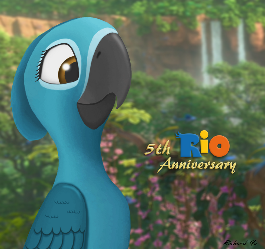 5th anniversary of Rio by TylerBluGunderson01