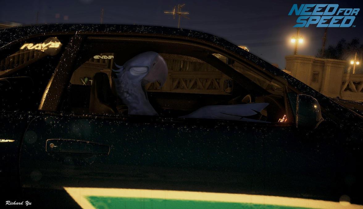 Rio - Blu in Need For Speed (2015) by TylerBluGunderson01