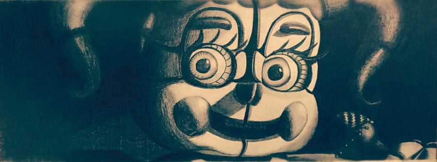 Five Nights at Freddy's - Circus Baby Sketching by TylerBluGunderson01