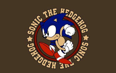 Sonic the Hedgehog by brotherofjared