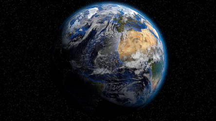 Blender Earth by brotherofjared