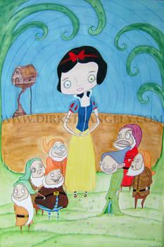 DIRK STRANGELY Snow White....