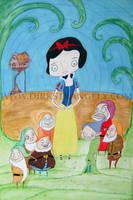 DIRK STRANGELY Snow White.... by dirkstrangely