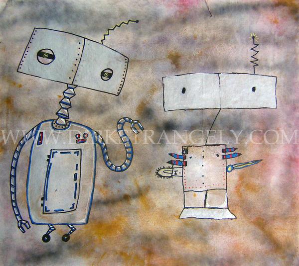 Dirk Strangely WHEN ROBOTS.... by dirkstrangely