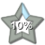 Star Progress Bar - 10%