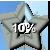 Star Progress Bar - 10%
