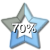 Star Progress Bar - 70% by ColMea