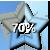 Star Progress Bar - 70% by ColMea