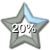 Star Progress Bar II - 20% by ColMea