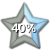 Star Progress Bar II - 40% by ColMea