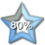 Star Progress Bar II - 80% by ColMea