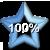 Star Progress Bar II - 100%