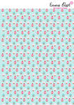 Deco Paper 1 - Cupcake Pattern