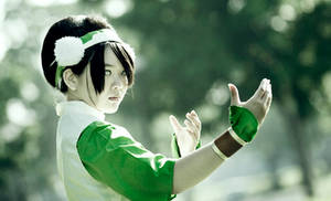 Toph Bei Fong-The Blind Bandit