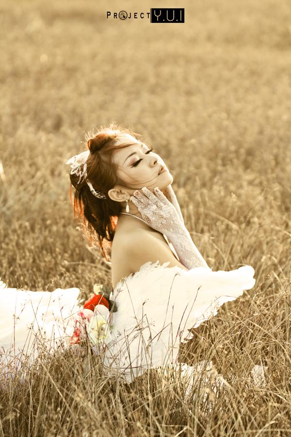 Wedding Dressed Yuna II by RacoonFactory
