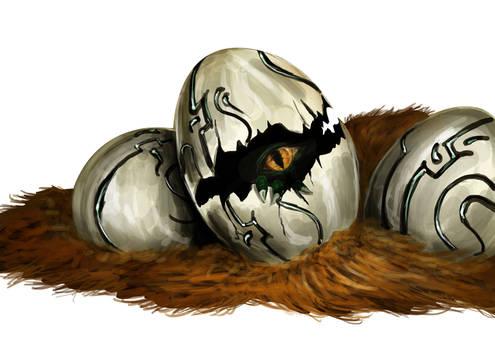 Mysterious Dragon Egg