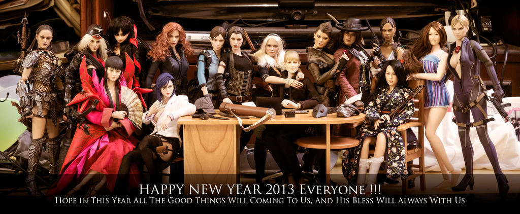 Happy New Year 2013 by RacoonFactory