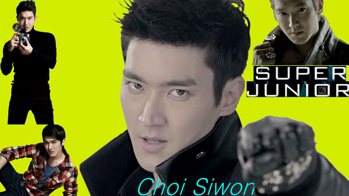 Choi Siwon Wallpaper by Lvr94Clan on DeviantArt