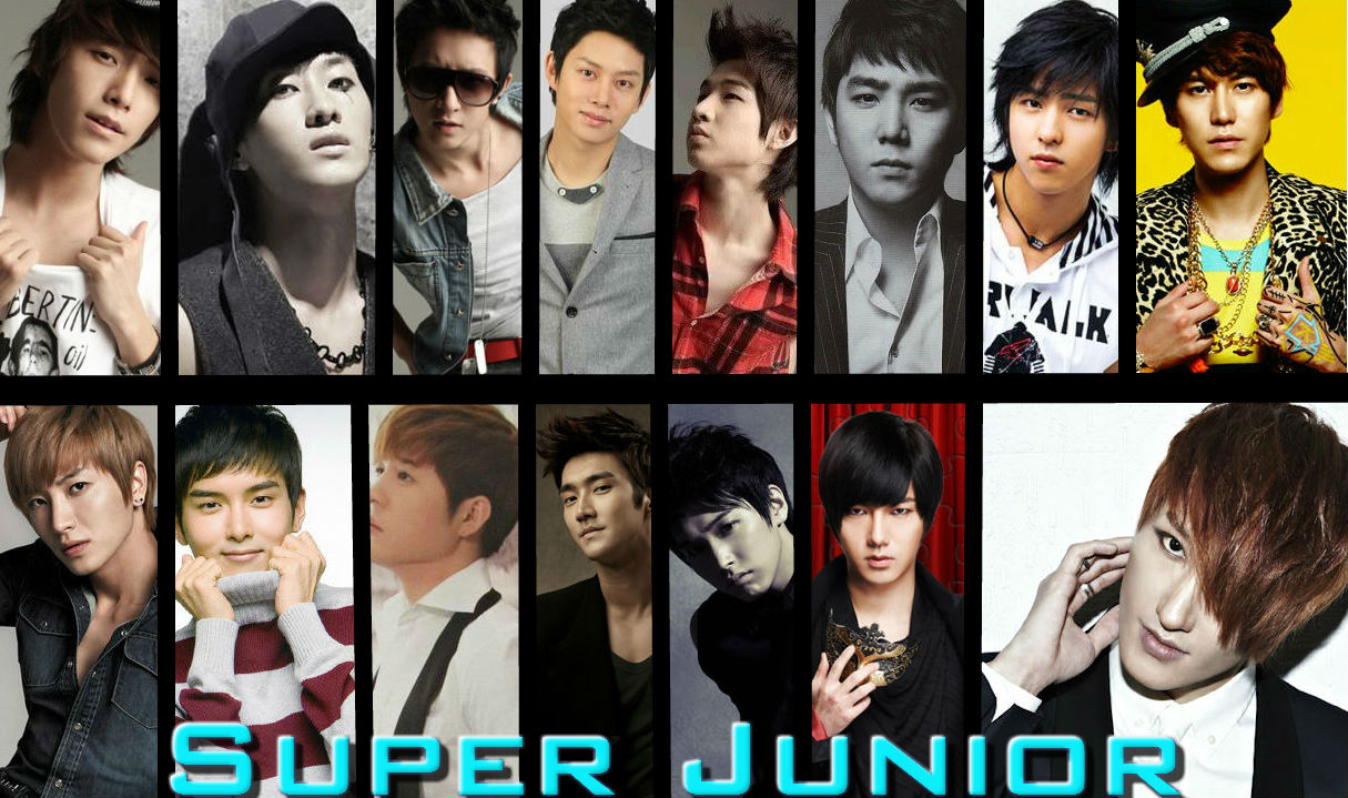 Super Junior: 15 Members by Lvr94Clan on DeviantArt