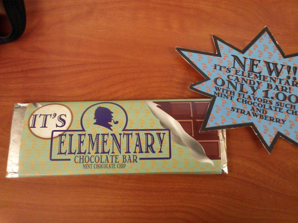It's Elementary my dear watson by QueenSheik01