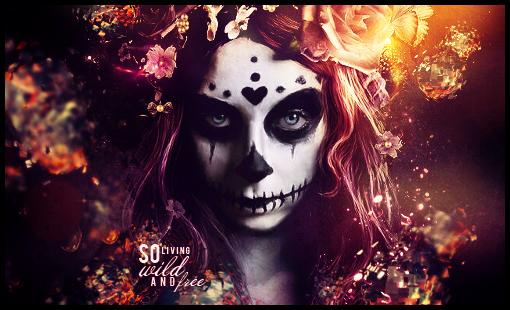 Sugar Skull by TheRunningLady