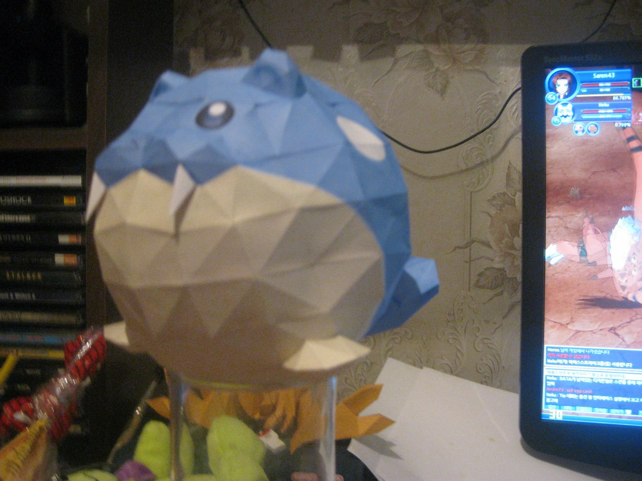 Spheal papercraft by Zimberdum