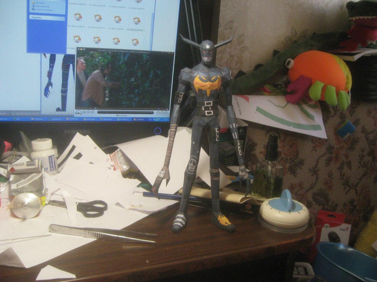 Wingless Devimon papercraft by Zimberdum
