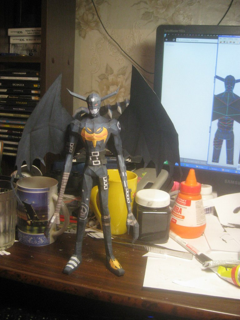 Devimon papercraft by Zimberdum